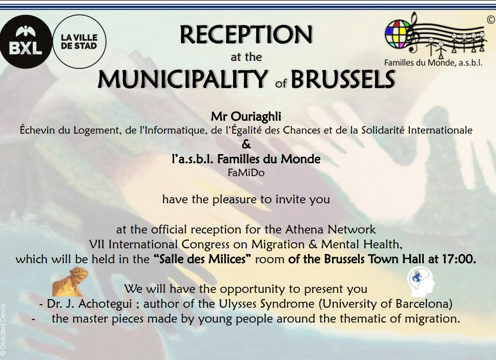 Reception at the Municipality of Brussels